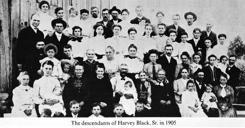 Family Reunion Black And White Black Family Reunion 1905